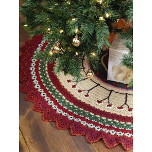 Ravelry: Woodland Tree Skirt pattern by Margret Willson