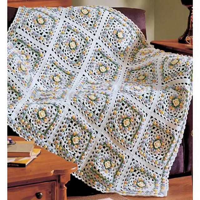 Ravelry Eves Coverlet Pattern By Susan A Stevens