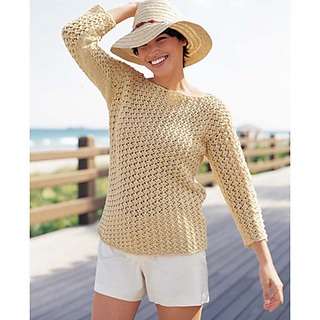 7b8479d48e Ravelry  Boat Neck Pullover pattern by Norah Gaughan