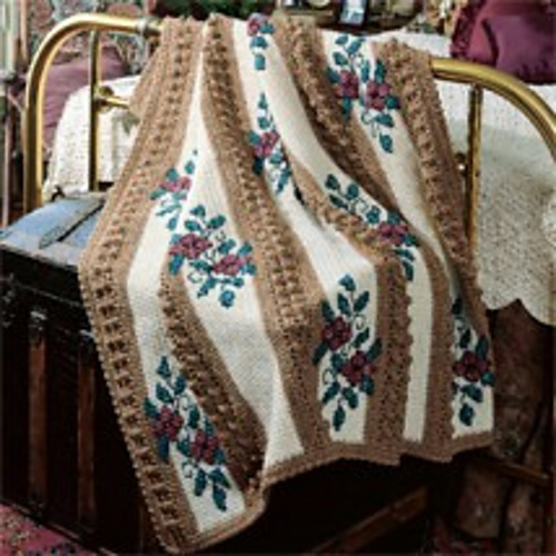 Ravelry Autumn Splendor Afghan Pattern By Leisure Arts