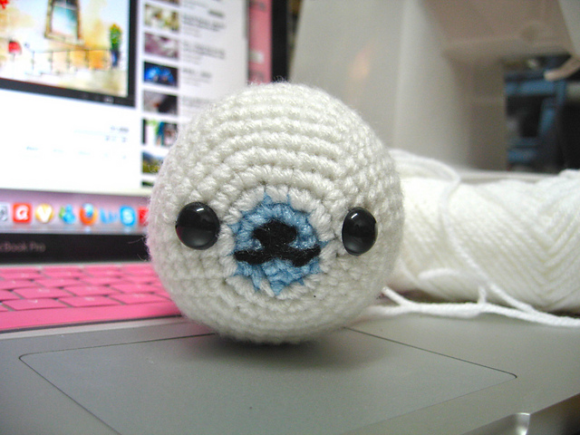 Ravelry: Mamegoma Seal Amigurumi pattern by Nana\'s Kollection