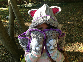 Ravelry cuddly cat crochet scoodie with pockets pattern by tamara kelly dt1010fo