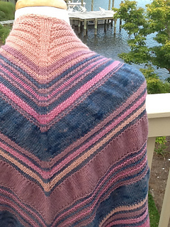 ColorPurl's Gathered Triangle