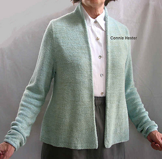 5615123b7bcc Ravelry  Simple Basic Cardigan pattern by Connie Hester