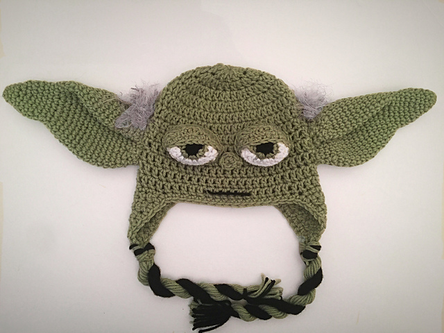 Ravelry Star Wars Yoda Hat Pattern By Forever Knotty
