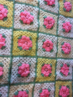 Ravelry Rose Trellis Afghan Amp Pillow Afghan Archived