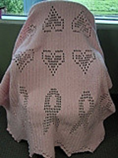 Ravelry: Cancer Awareness Afghan (Crochet) pattern by Mary Maxim
