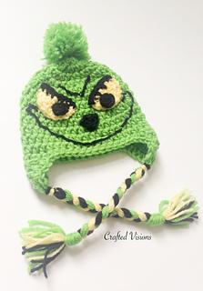 Ravelry  Grinch Hat pattern by Corey Janssen 41045b8862e