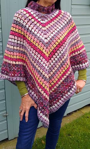 Ravelry Desert Irony Poncho Pattern By Kathryn Senior Amazing Crochet Poncho Pattern Ravelry