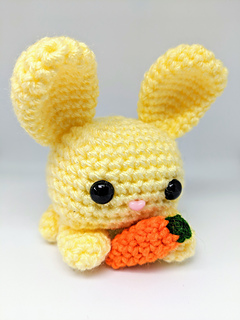 ravelry cube bunny rabbit pattern by crafty bunny bun