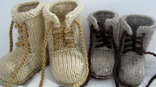 e52eb0ca21ed Ravelry  Combat booties pattern by Janet Tamargo