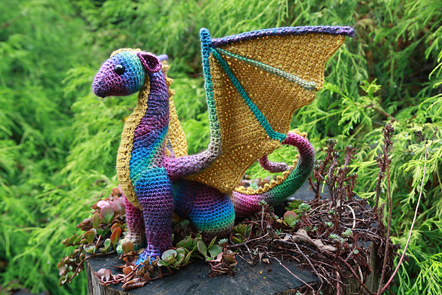Ravelry Dragon Pattern By Crafty Intentions