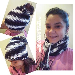 Ravelry  Ponytail Hat Neckwarmer pattern by Goddess Crochet c26898c6ed8