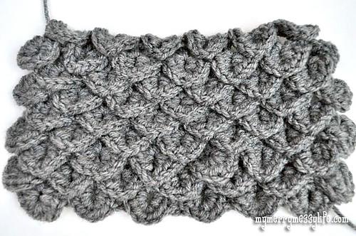Ravelry Crocodile Stitch Tutorial Pattern By Sara Mcfall