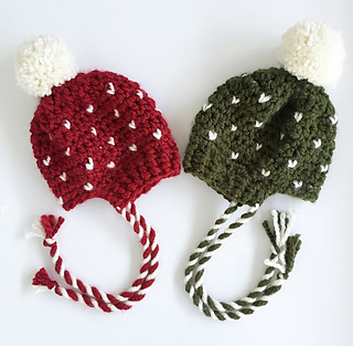 Ravelry  The Tiny Hearts Hat pattern by Crafty Operation 459008a9b1f
