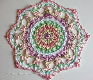 Ravelry Serenity Mandala Pattern By Susana Lobos Designs