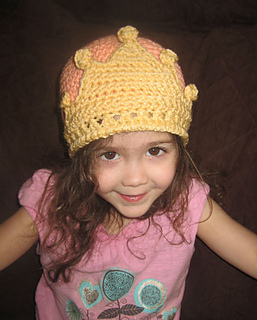 Ravelry  Princess Crown Crochet Hat pattern by Kelli Lund bad06fda60e