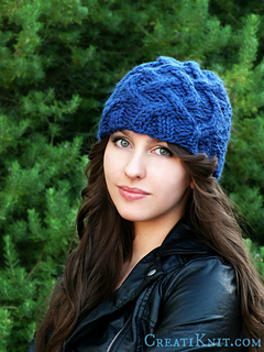 2d447ecfb4a Ravelry  The Celtic Cable Beanie pattern by CreatiKnit