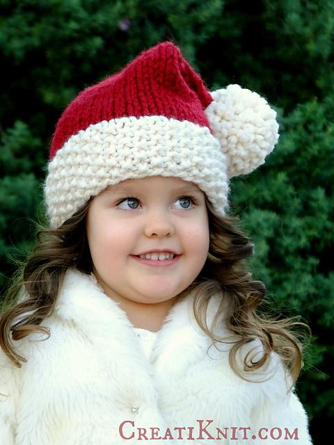 Ravelry: The Santa Cutie Hat pattern by CreatiKnit