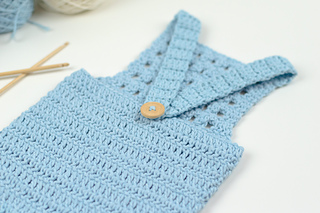 Free Crochet Pattern For Baby Romper : Ravelry: Blue Orchid Baby Romper pattern by Croby Patterns