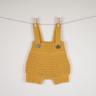 Ravelry Baby Romper Pattern By Croby Patterns