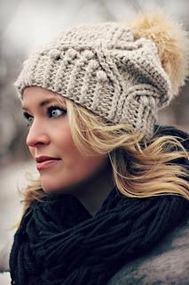 1869ebc3ab3 Ravelry  Royal Twist Hat pattern by Viktoria Gogolak