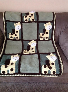Ravelry Zoo Blanket Base Pattern Not Including Appliques