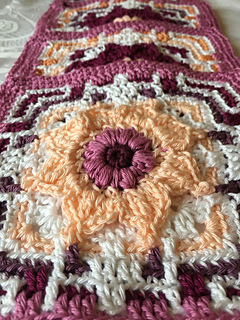 Ravelry Funky Flower Tile Pattern By Marie Hoff