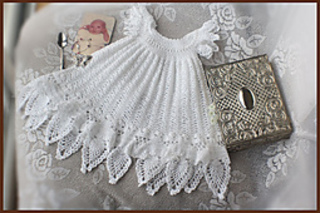 Ravelry Celestial Christening Gown Pattern By Lisa Naskrent
