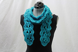 crochet, pattern, for sale, Ravelry, scarf, lace
