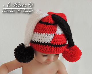 Crochet Jester Hat Pattern