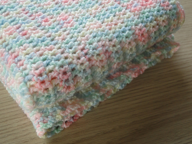 Ravelry Easy Baby Blanket Pattern By Claire From Crochet Leaf