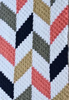 Ravelry Herringbone Blanket C2c Pattern By Jessica Z