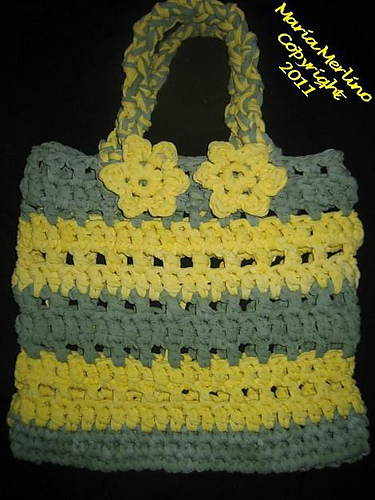Ravelry Big Hook Crochet A Sturdy Tote Pattern By Maria Merlino