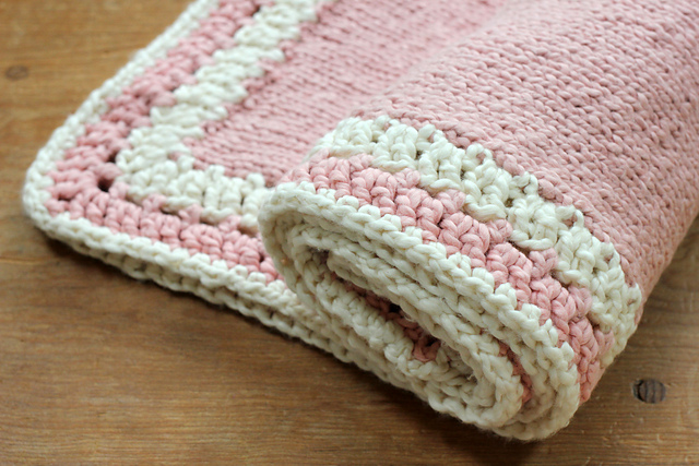 Ravelry Bella Baby Blanket Border Pattern By Jessica A Chong
