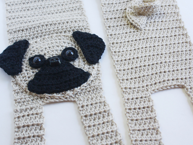 Ravelry: Pug Scarf pattern by Shelley Brown
