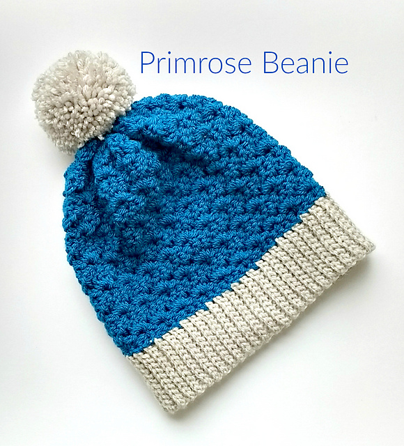 7b5524acfb4 Ravelry  The Primrose Slouchy Beanie pattern by Mary P