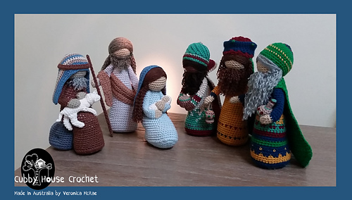 Ravelry Nativity By Cubby House Pattern By Veronica Mcrae