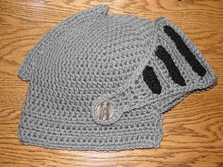 f361ae54066c8 Ravelry  Sir Knight Helmet - CROCHET pattern by Martina Gardner