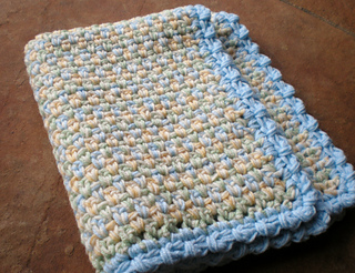 Ravelry Easy Crochet Baby Blanket Quick Cozy Series Pattern By
