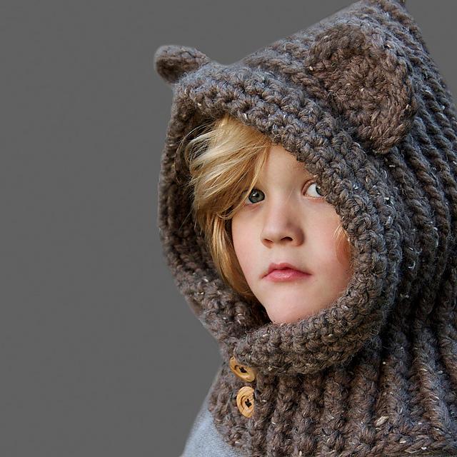 Ravelry Hooded Bear Cowl Pattern By Cyprianne Nolan