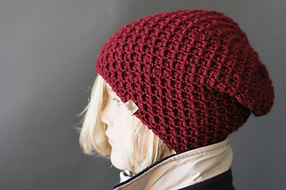 3dd18d28378 Ravelry  Cumberland Slouch Hat pattern by Cyprianne Nolan