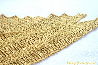 Ravelry Asymmetrical Shawl Golden Dragon Pattern By Beauty