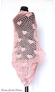 263e01011149ae Ravelry  Heart Cocoon Cardigan pattern by Beauty Crochet Pattern