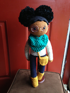 Ravelry African American Crochet Doll Pattern By Don T