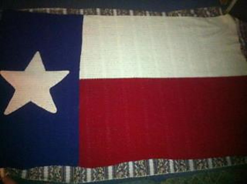 Ravelry Dkb Texas Flag Blanket Pattern By Dkb Crochet Works