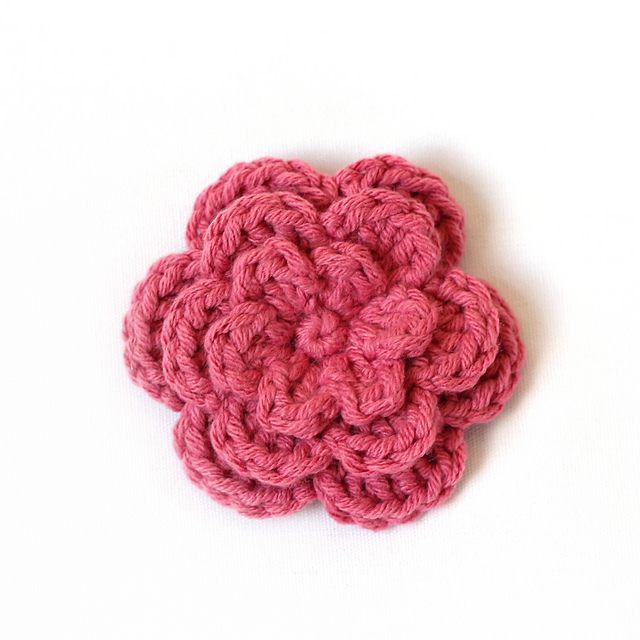 Ravelry Three Layer Flower Pattern By Mary Englar