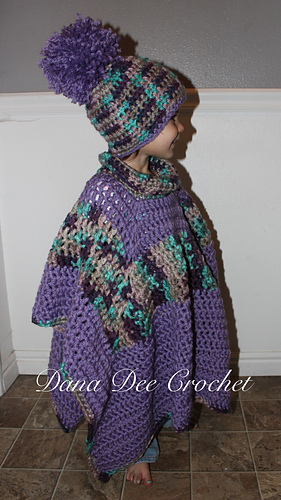 Ravelry Chunky Car Seat Poncho Pattern By Dana Draves Interesting Car Seat Poncho Pattern