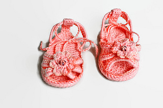 Crochet Baby Sandals Pattern By Danieland Design Ravelry