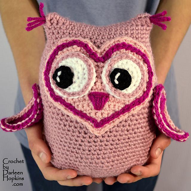 Ravelry Owl Always Love You Amigurumi Pattern By Darleen Hopkins